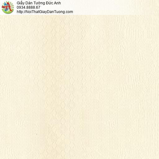 MG2121 Giấy dán tường màu blen vàng họa tiết ca rô nhỏ hiện đại