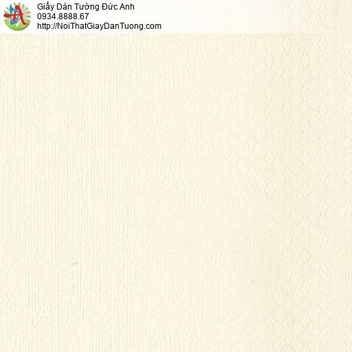 MG2122 Giấy dán tường màu vàng kem, họa tiết ca rô nhỏ màu blend kem vàng