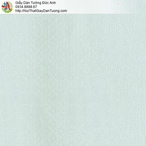MG2123 Giấy dán tường chuyển màu xanh, hoa văn họa tiết ca rô nhỏ màu xanh lơ