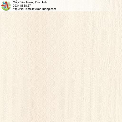 MG2126 Giấy dán tường màu vàng kem họa tiết hình ca rô, giấy dán tường chuyển màu