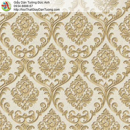 29042 Giấy dán tường màu vàng cổ điển, giấy dán tường chống ẩm