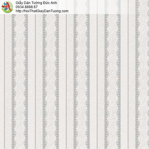 29071 Giấy dán tường sọc màu kem hồng, giấy dán tường kẻ sọc đẹp