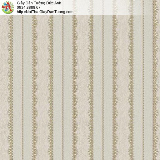 29073 Giấy dán tường dạng sọc màu xám xanh, giấy dán tường sale giá rẻ