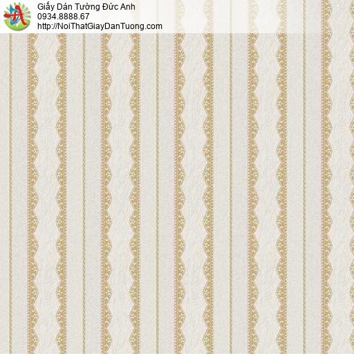 29074 Giấy dán tường sọc màu vàng nhạt, giấy dán tường sọc đẹp