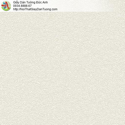7163 Giấy dán tường hiện đại, giấy gân to màu vàng nhạt