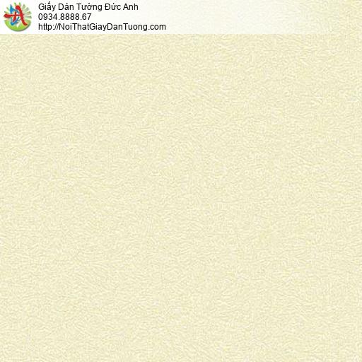 7164 Giấy dán tường gân to màu vàng chanh, giấy gân đơn giản một màu hiện đại