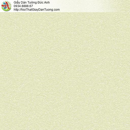 7165 Giấy dán tường gân thô màu vàng chanh, giấy dạng gân đơn giản một màu