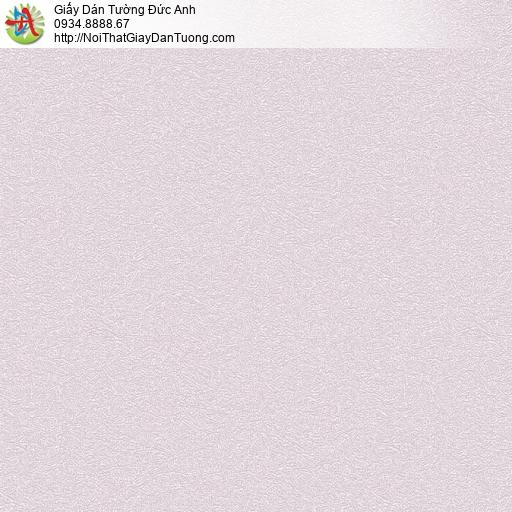 7167 Giấy dán tường màu tím nhạt, giấy gân to đơn giản một màu hiện đại