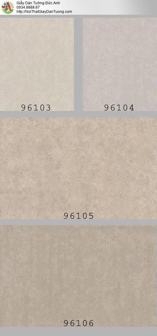 96104 Giấy dán tường gân màu xám, giấy gân to đơn giản hiện đại