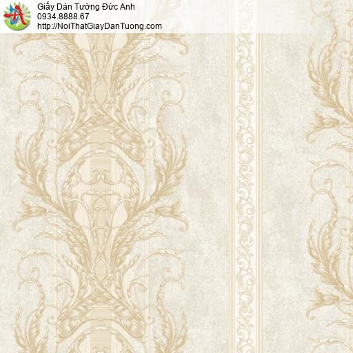 9664 Giấy dán tường cổ điển màu vàng nhạt, tư vấn lựa chọn giấy dán tường tại nhà