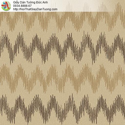 53303-4 Giấy dán tường sóng lượn màu vàng, giấy dán tường quận Bình Tân