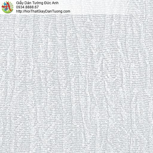 53304-2 Giấy dán tường gân lớn màu xám xanh, giấy đơn giản hiện đại một màu
