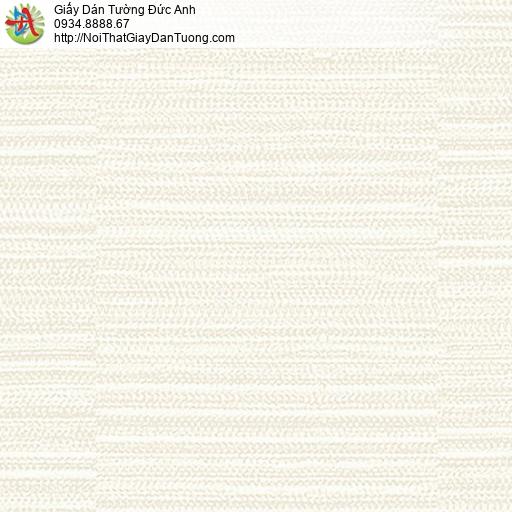 53307-1 Giấy dán tường vân ngang màu kem, giấy đơn giản một màu hiện đại