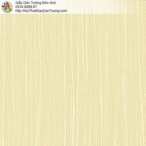 53311-3 Giấy dán tường sọc gân sọc màu vàng, giấy gân đơn giản một màu