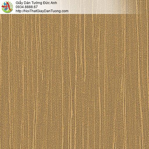 53311-4 Giấy dán tường màu vàng đồng, giấy gân trơn đơn giản một màu vàng đậm