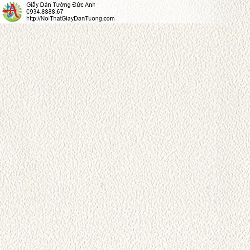 2071-2 Giấy dán tường trơn gân màu kem, giấy một màu đơn sắc hiện đại