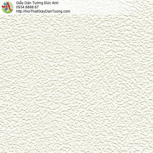 2205-1 Giấy dán tường hiện đại màu kem, giấy gân đơn giản một màu