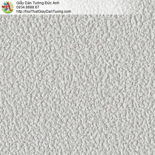 2205-13 Giấy dán tường gân to màu xám, giấy dán tường dạng phun gai