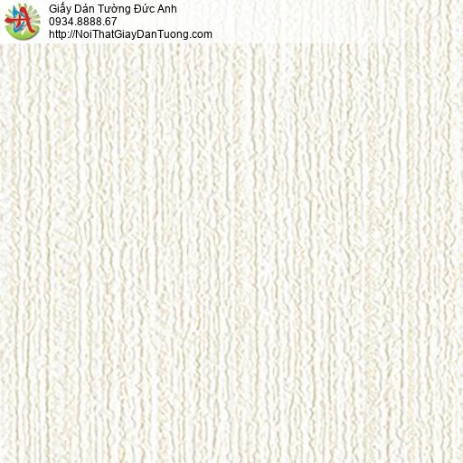 2236-2 Giấy dán tường gân to màu vàng nhạt, giấy hiện đại màu kem