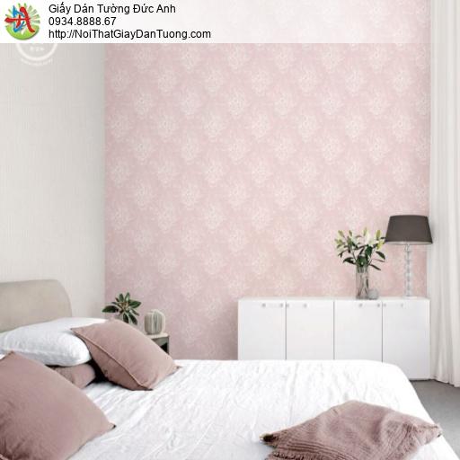 2265-1 Giấy dán tường bông hoa màu hồng