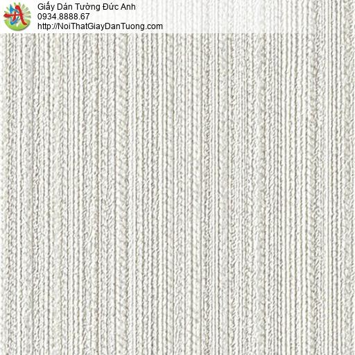 2271-2 Giấy dán tường sọc nhỏ nhuyễn màu xám, giấy sọc màu xám nhạt