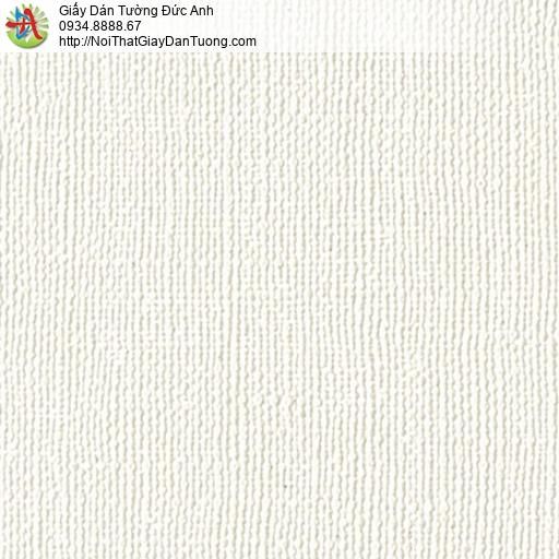2277-1 Giấy dán tường gân màu trắng, giấy dán tường hiện đại một màu