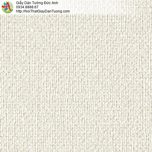 2277-2 Giấy dán tường gân màu vàng nhạt, giấy gân hiện đại một màu