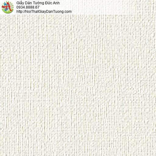 2277-6 Giấy dán tường màu kem, giấy gân hiện đại màu kem đẹp