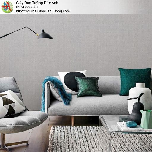 2277-8 Giấy dán tường màu xám hiện đại, giấy gân đơn giản một màu