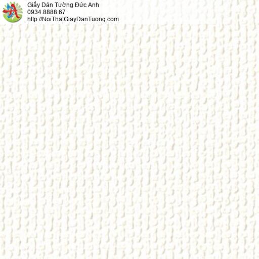 2278-1 Giấy dán tường gân lớn màu trắng, giấy dán tường màu trắng hiện đại