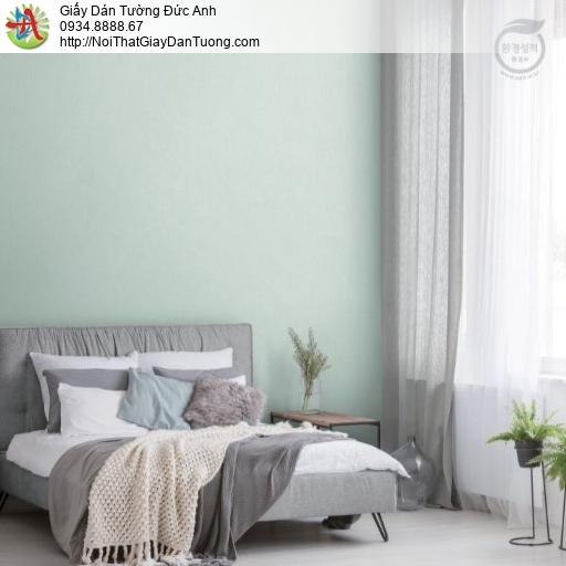 2278-6 Giấy dán tường màu xanh lơ, giấy gân màu xanh hiện đại màu xanh nhạt