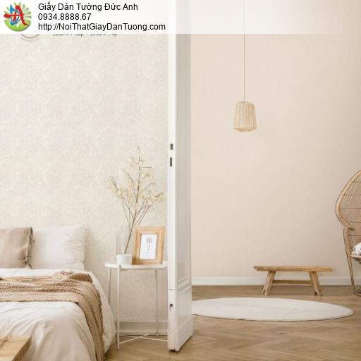 2280-1 Giấy dán tường hoa văn cổ điển màu kem