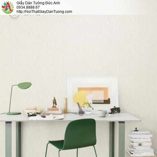 2281-1 Giấy dán tường hiện đại, giấy dán tường màu vàng kem