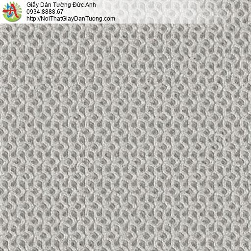 2286-3 Giấy dán tường gân 3D màu xám hiện đại