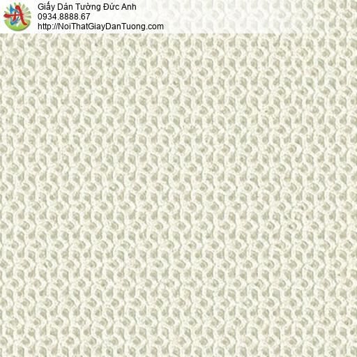 2286-5 Giấy dán tường 3D, giấy dán tường gân nổi màu vàng nhạt