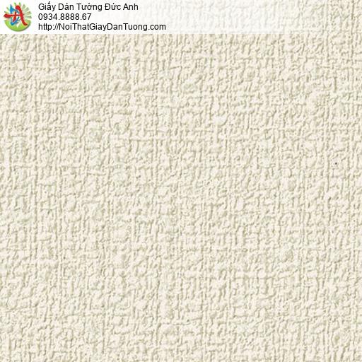 2287-2 Giấy dán tường gân to màu vàng nhạt, giấy dán tường hiện đại đơn sắc một màu