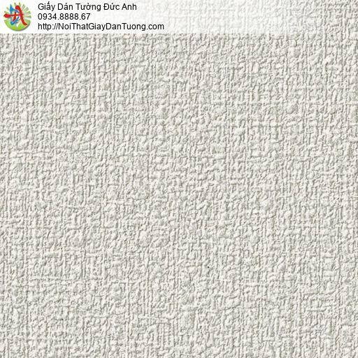 2287-3 Giấy dán tường gân thô to màu xám nhạt, giấy màu xám mới 2021