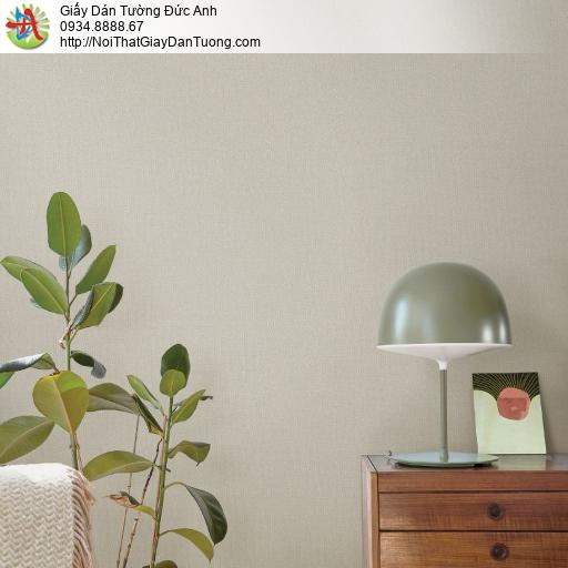 2288-9 Giấy dán tường phong cách hiện đại, giấy gân đơn giản một màu vàng xám