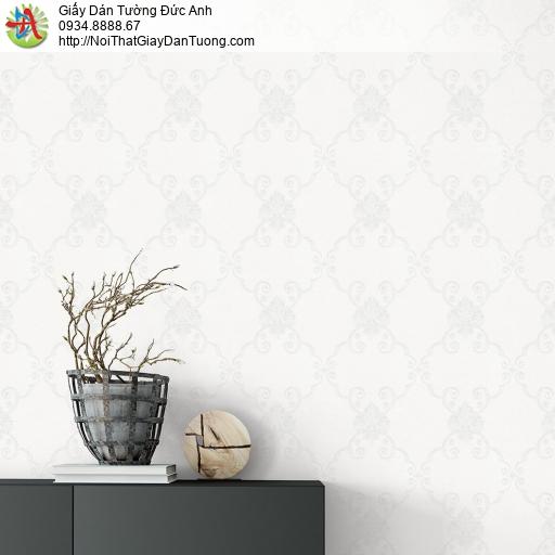 V concept 7903-1 | Giấy dán tường hoa văn họa tiết ẩn cổ điển màu trắng