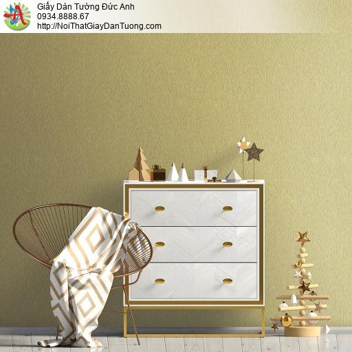 V concept 7909-6 | Giấy dán tường trơn đơn giản một màu vàng đậm, giấy không có hoa văn họa tiết