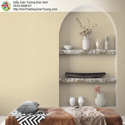 V concept 7910-3 | Giấy dán tường gân nhỏ màu vàng hiện đại, giấy dán tường không có hoa văn họa tiết