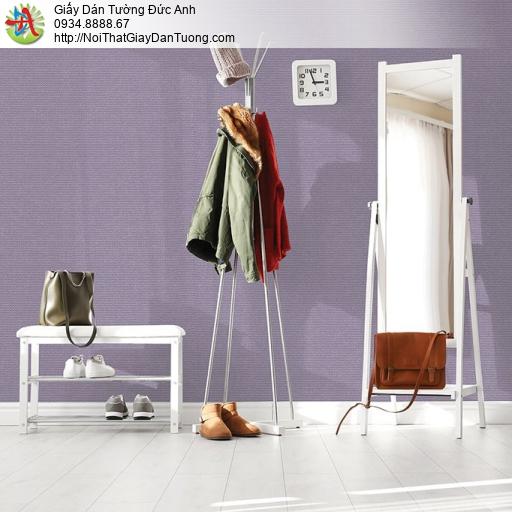 V concept 7910-7 | Giấy dán tường màu tím nhạt, giấy gân nhỏ đơn giản không có hoa văn