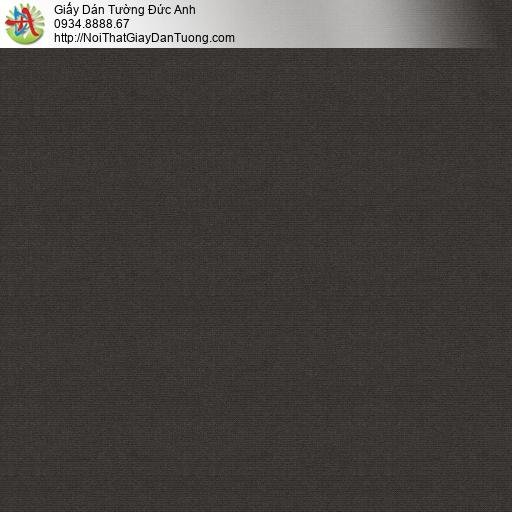 V concept 7910-8 | Giấy dán tường màu nâu đậm, giấy gân trơn đơn giản màu đen nâu hiện đại