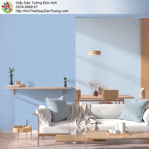 V concept 7911-2 | Giấy dán tường màu xanh dương, giấy gân trơn đơn giản một màu hiện đại