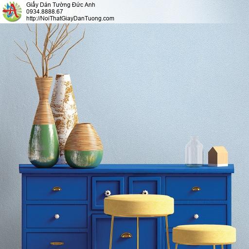 V concept 7914-10 | Giấy dán tường màu xanh dương, giấy trơn gân đơn giản màu xanh da trời