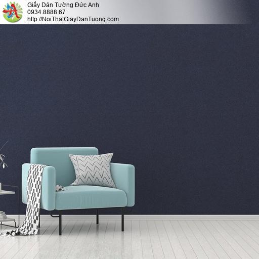 V concept 7914-11 | Giấy dán tường màu đen, giấy gân đơn giản màu xanh than đậm cho điểm nhấn đẹp