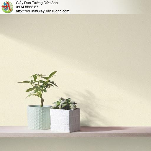 V concept 7914-2 | Giấy dán tường màu vàng nhạt, giấy trơn gân đơn giản một màu không có hoa văn hiện đại