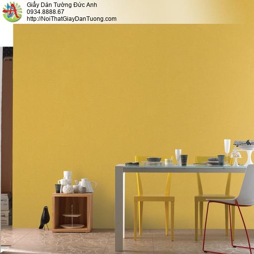 V concept 7914-4 | Giấy dán tường màu vàng tươi hiện đại, giấy trơn một màu không có hoa văn
