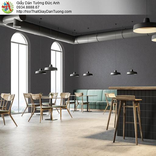 V concept 7914-7 | Giấy dán tường điểm nhấn màu xám tối, giấy trơn gân đơn giản một màu hiện đại