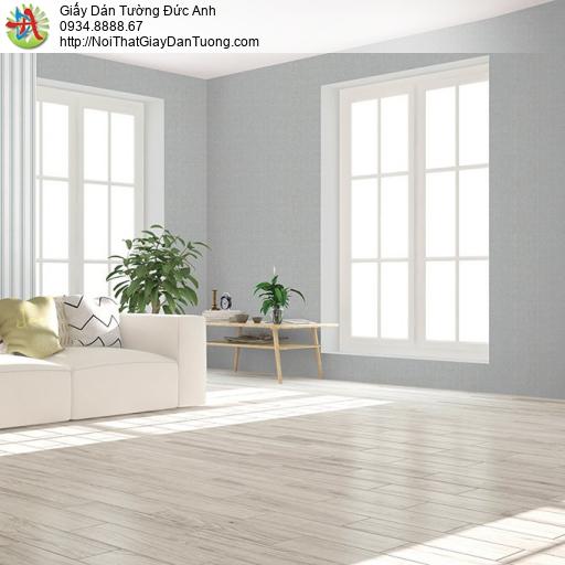 V concept 7915-3 | Giấy dán tường màu xám xanh, giấy trơn đơn sắc một màu không có bông